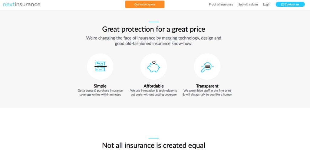 Services next insurance