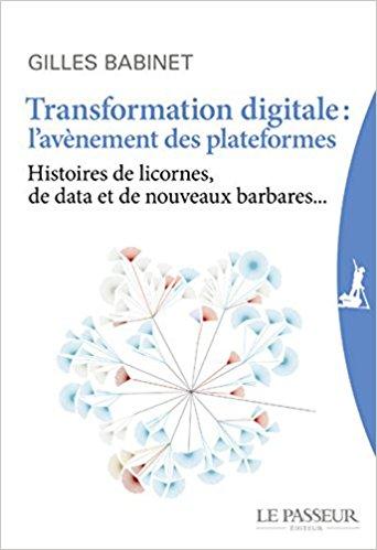 Couverture Gilles Babinet TransformationDigitale